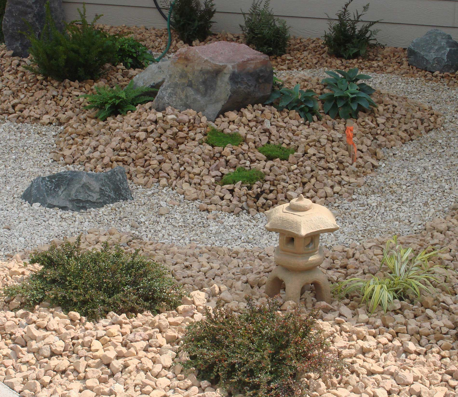 A number of landscaping services