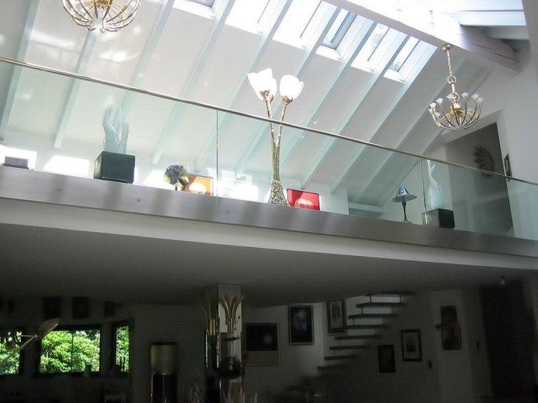 parapetto vetro accessori inox