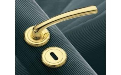 Maniglia moderna dorata