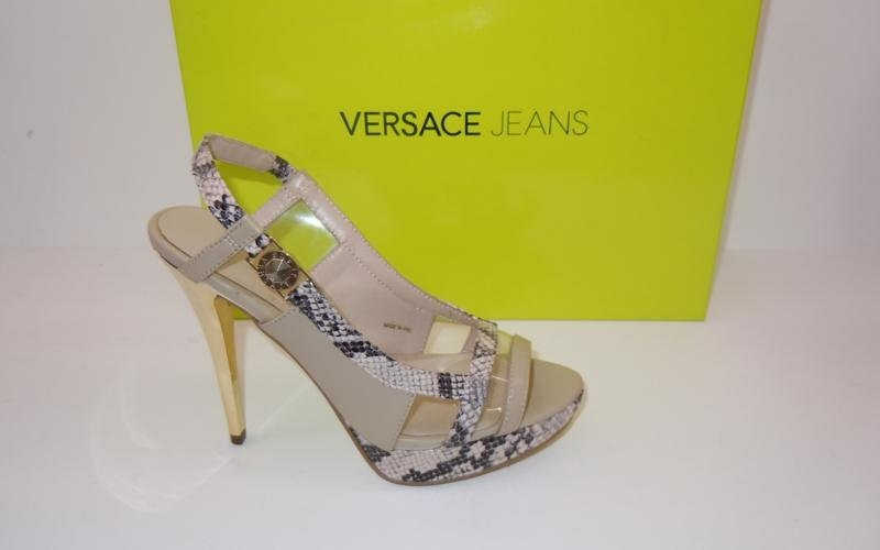 Sandali pitonati Versace