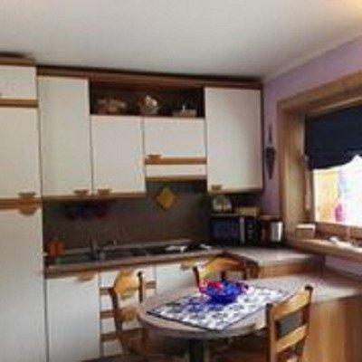 interno baita cucina