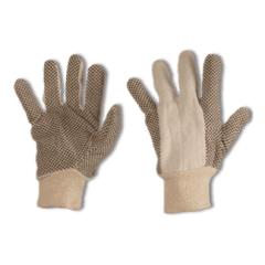 guanti cotone puntinato