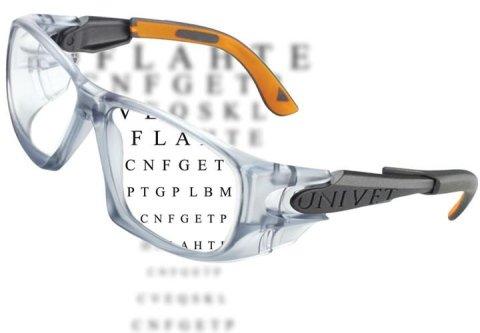 occhiale univet con lenti correttive