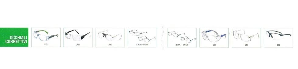 occhiali con lenti correttive univet