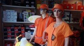 abiti da lavoro alta visibilità, abiti da lavoro arancioni