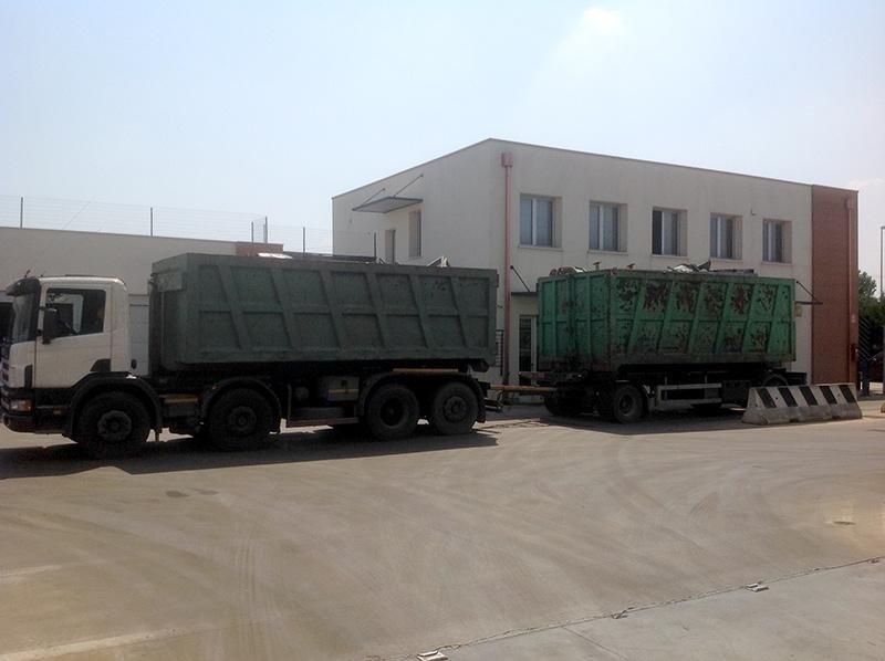 Ferrato Euromet veicolo per raccolta metalli