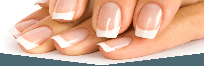 Dettaglio di unghie curate