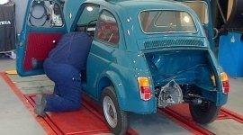 restauro auto d'epoca roma