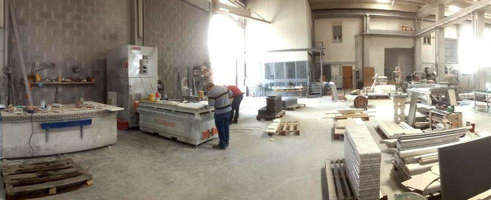 fabbrica lavorazione pietra lavica a biancavilla provincia di catania