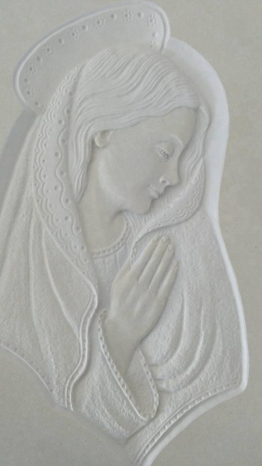 scultura madonna