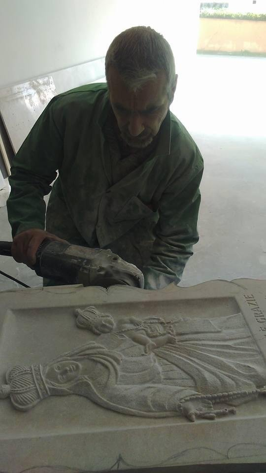 lavorazione pietra