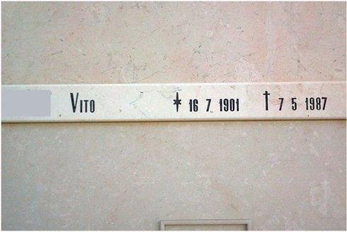 iscrizione lapide