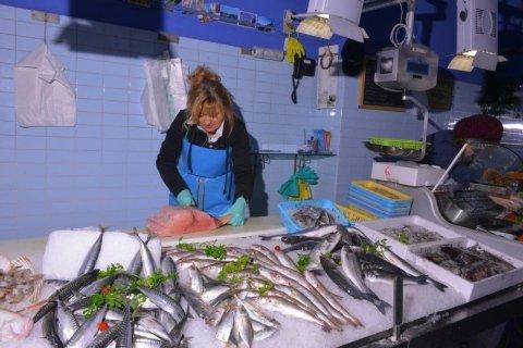 Pulizia del pesce