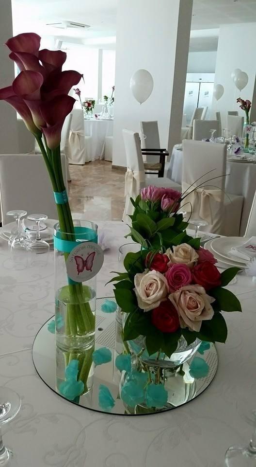 Farfalle - allestimento matrimonio personalizzato
