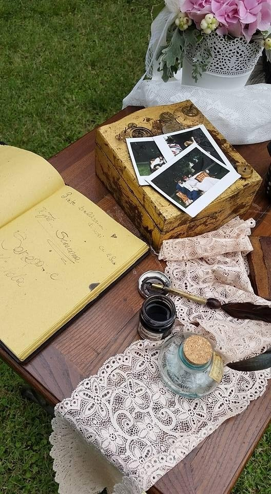 Vintage - allestimento matrimonio personalizzato