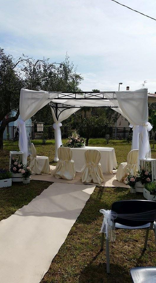 Shabby Chic - allestimento matrimonio personalizzato