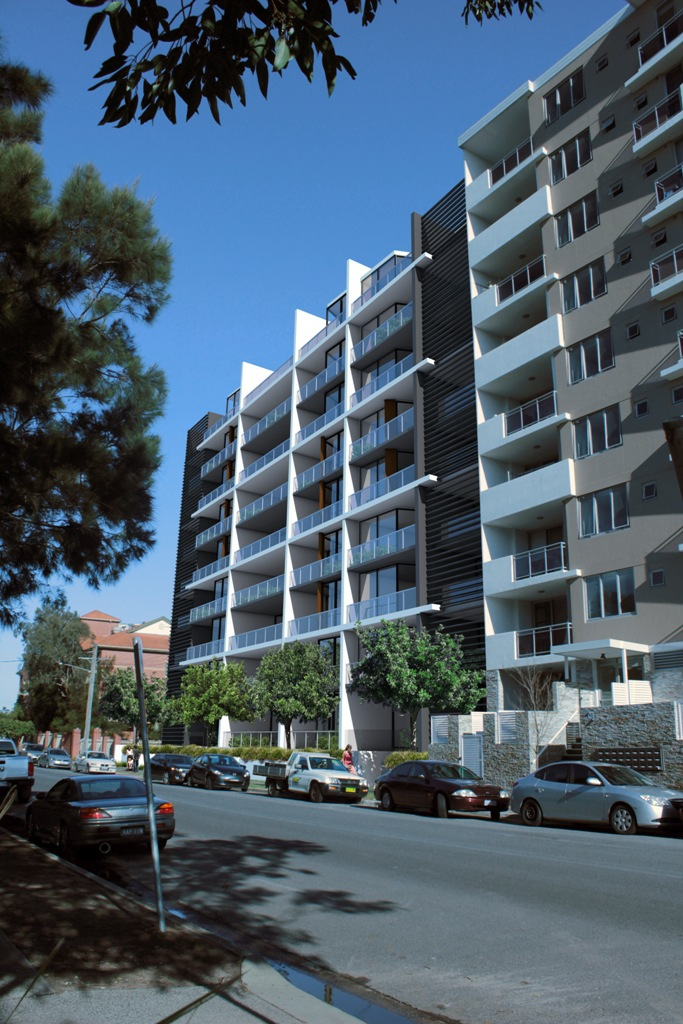 View of the wolli creek project