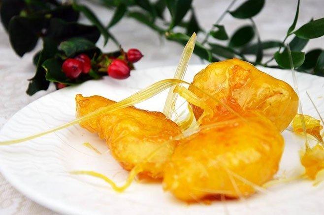 Frutta caramellata