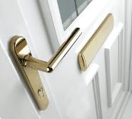 A uPVC door