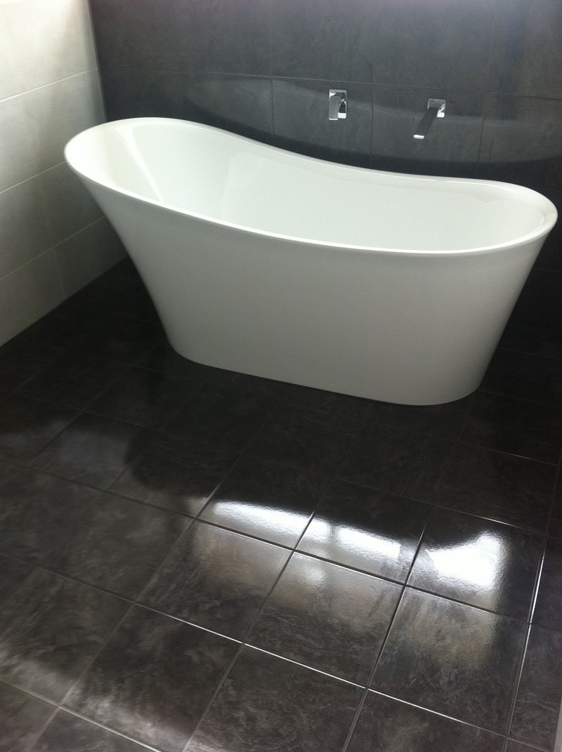 View of a renovated bathroom done by expert