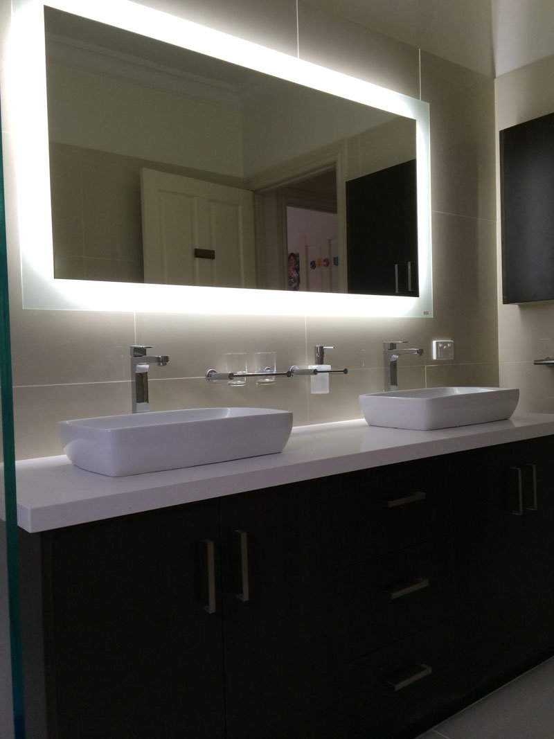 View of the bathroom after renovation