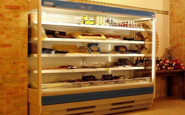 Fornitura frigoriferi a ripiani