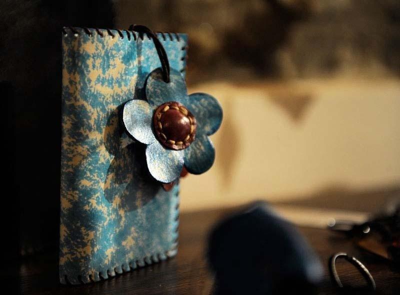 portafogli regalo in cuoio