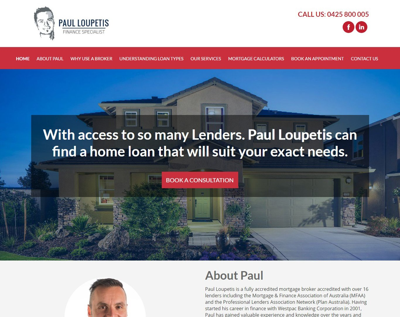 websites for mortgage brokers
