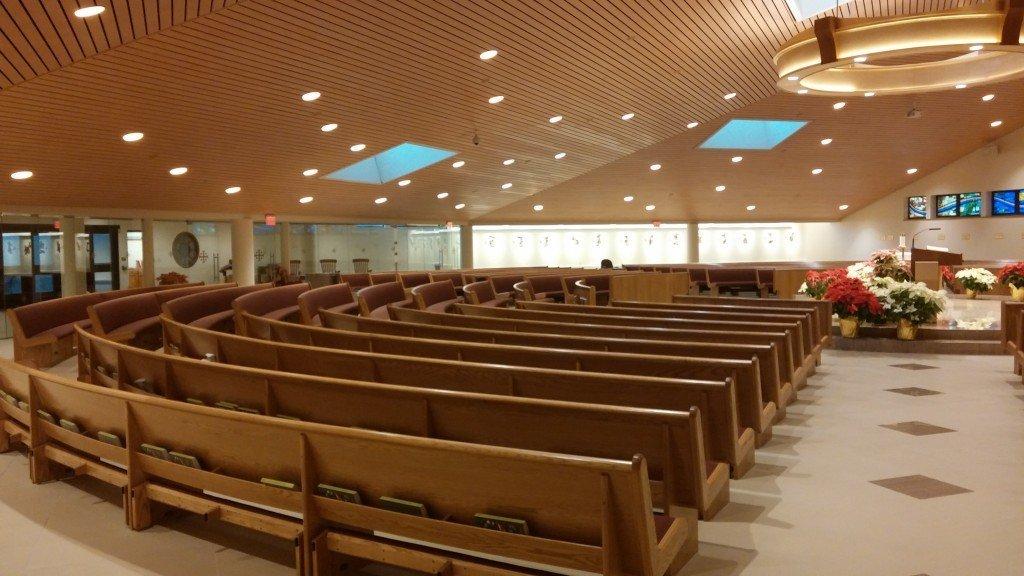 Christ Our Light Church Lighting T Amp J Electrical