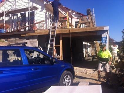 home renovation ongoing
