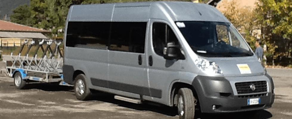 furgoni per trasporto