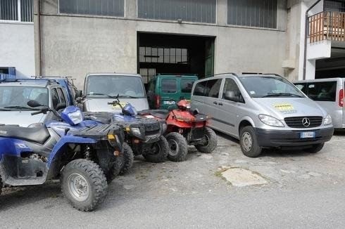 Quad bike fleet