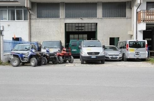 Quad bike and van rentals