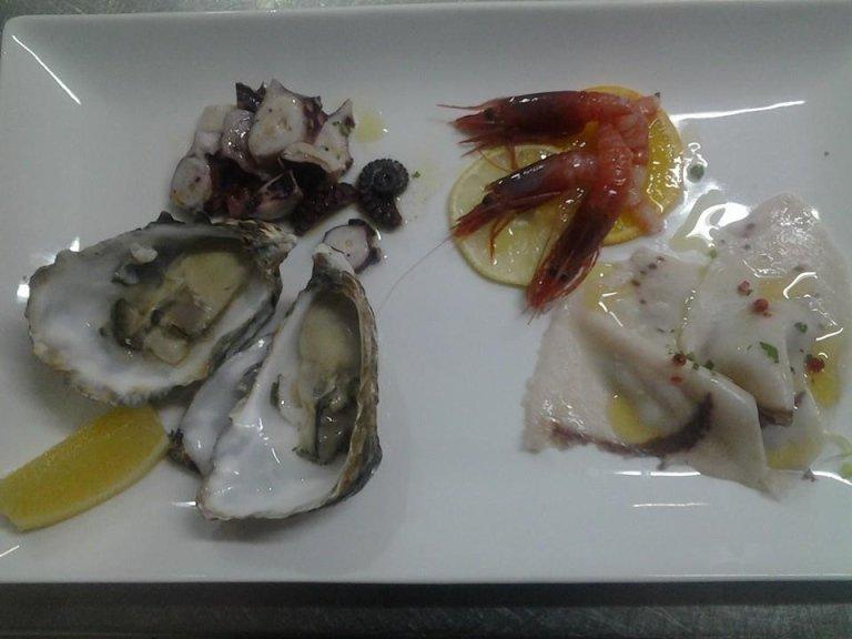 Piatto di pesce a La Vela- Messina