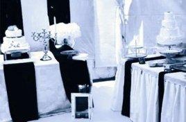 bianco e nero allestimento