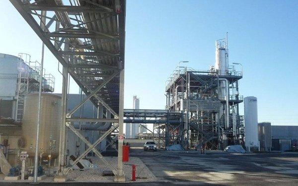 Un impianto industriale