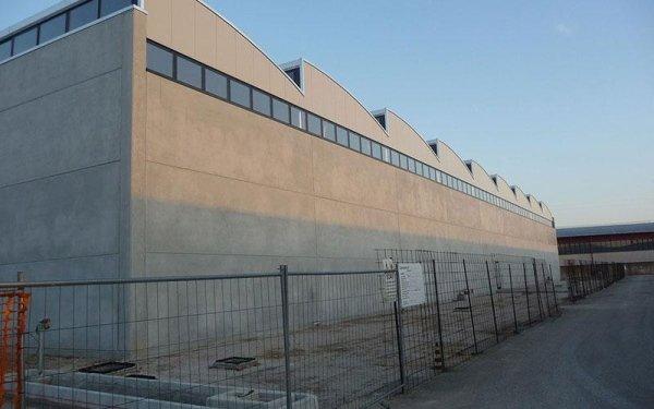 Un edificio industriale