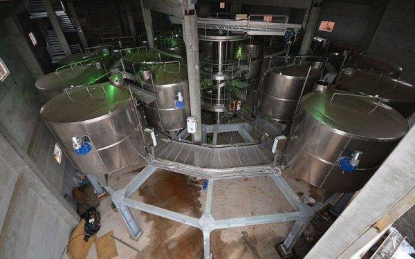 Interno di un impianto industriale
