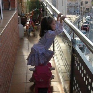 Rete di protezione balconi roma animalando for Protezione stufa per bambini