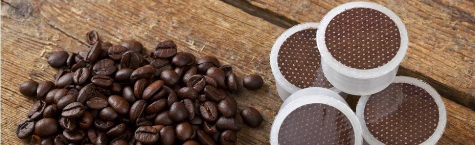 Caffè crudo e cialde