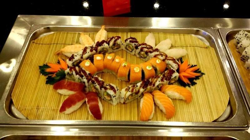 sushi e sashimi buffet a Palermo