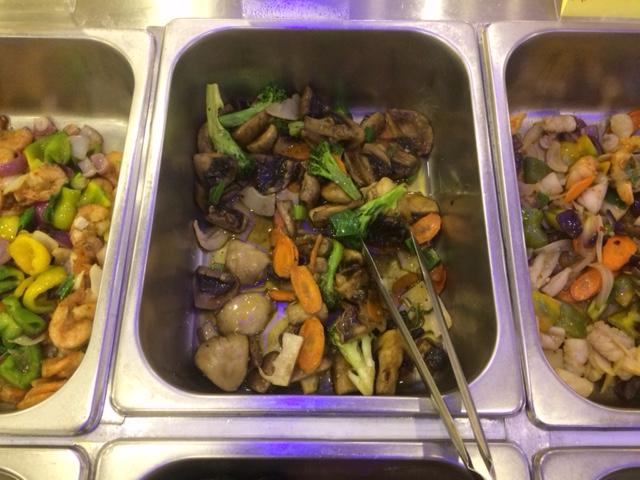 Buffet cucina cinese e giapponese a Palermo