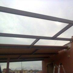 Fase montaggio tettoie