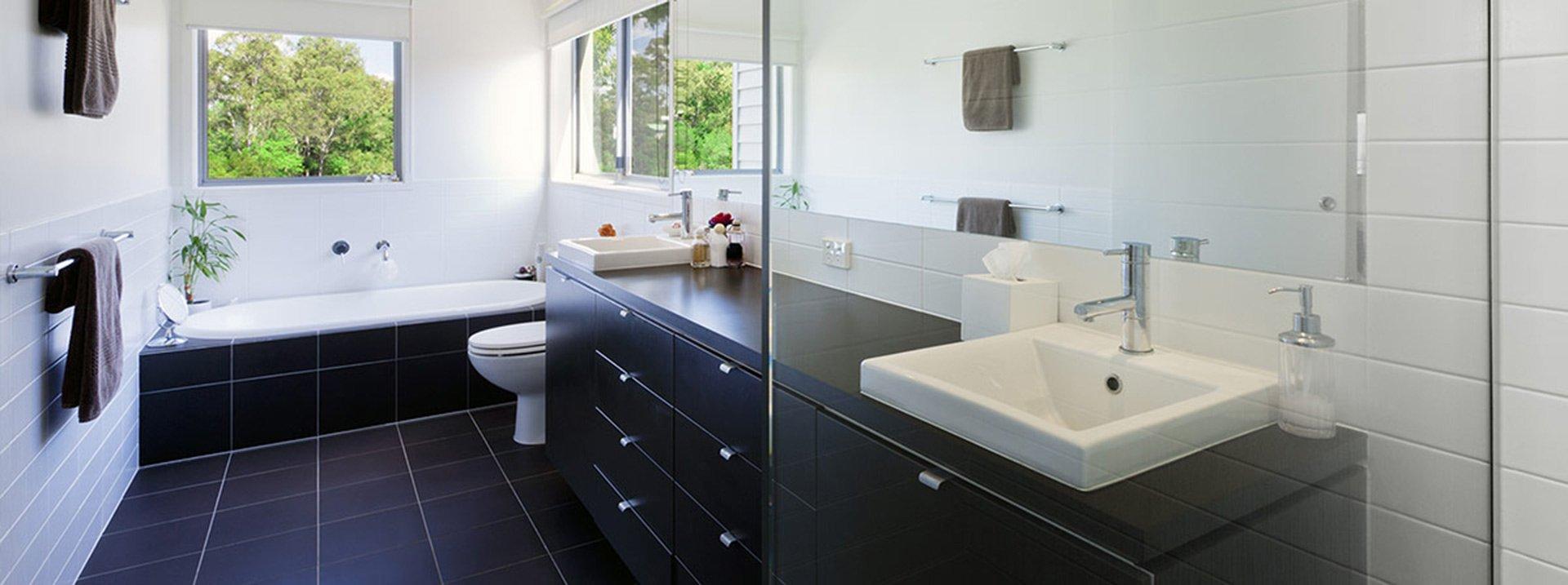 bathroom renovation contemporary bathroon