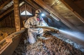 Insulation work by professional