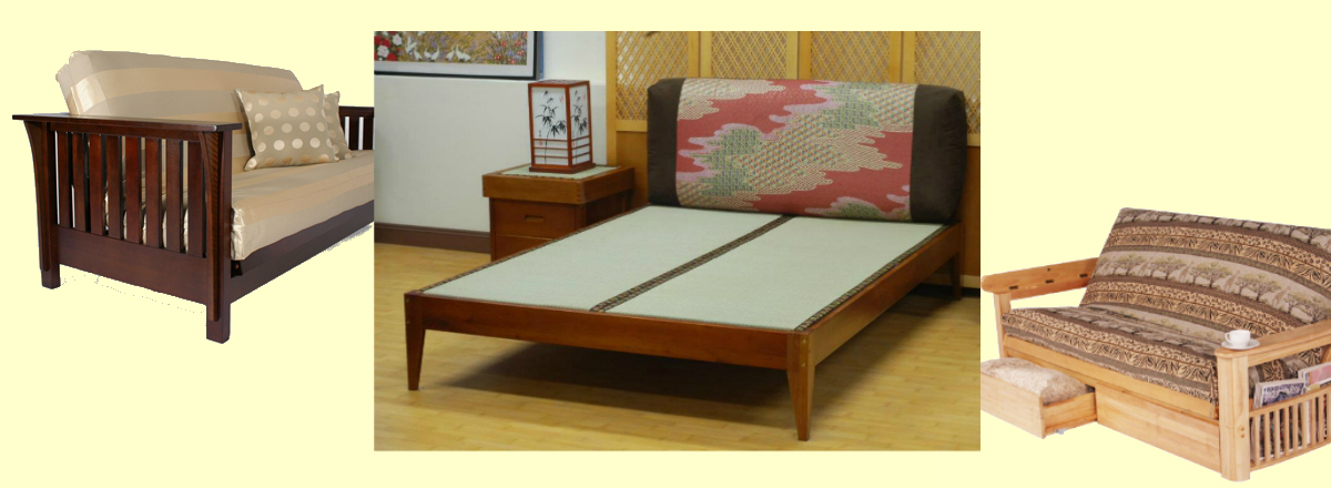 Futons and tatami beds from our Honolulu, HI furniture store
