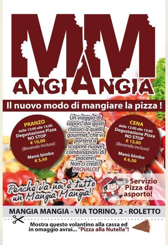 offerte pranzo e cena pizzeria