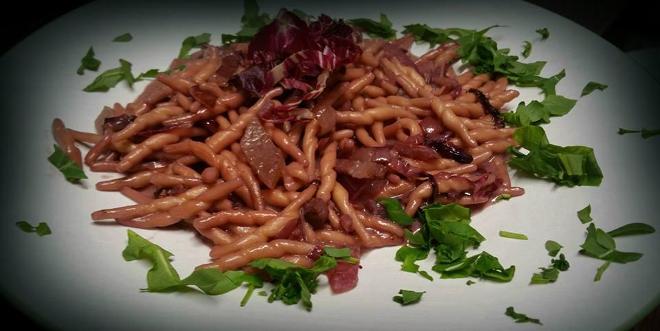 pasta fresca con carne
