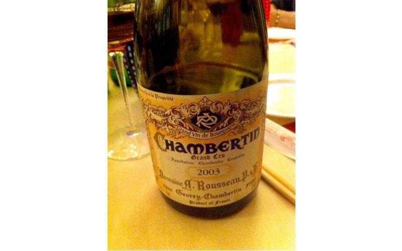vino chambertin