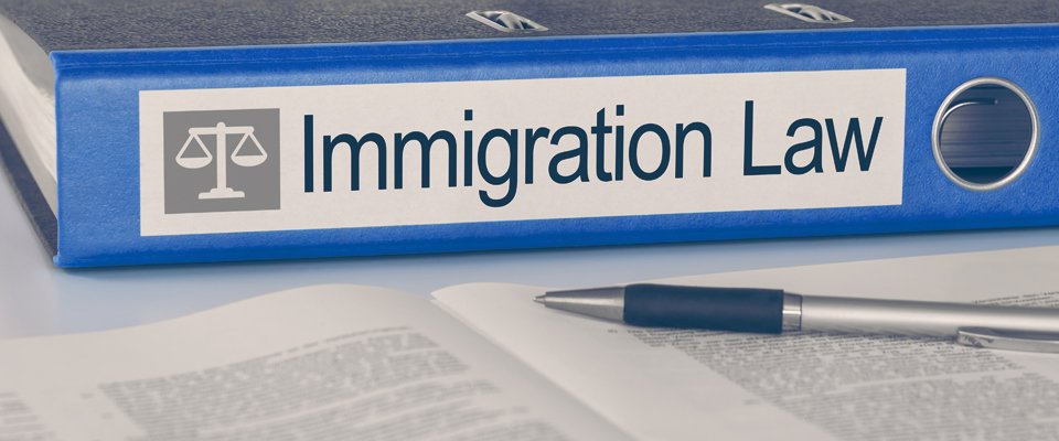 Immigration law folder
